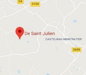 plan d'accès Domaine Saint Julien
