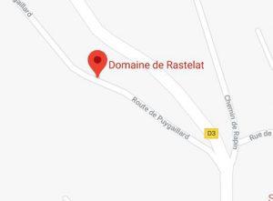 accès google maps Domaine de Rastelat Vaïssac