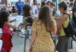 atelier enfants et parents à la fête du vin des coteaux du Quercy